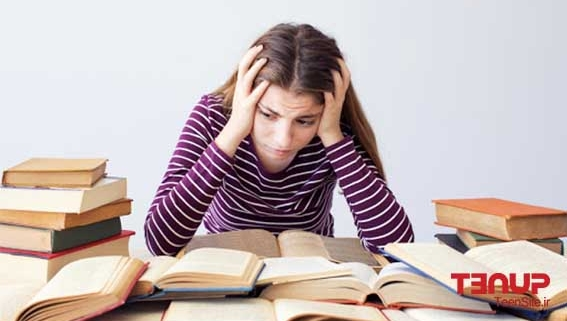 اضطراب امتحان مشاوره