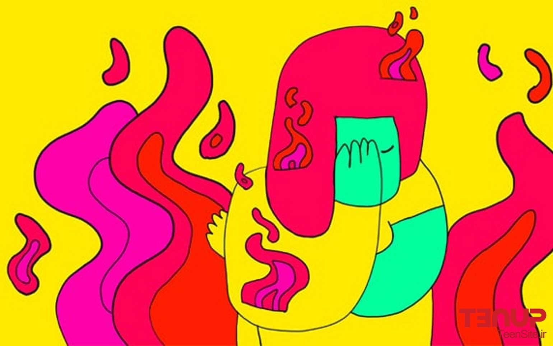 اضطراب در نوجوانان به ویژه در دختران